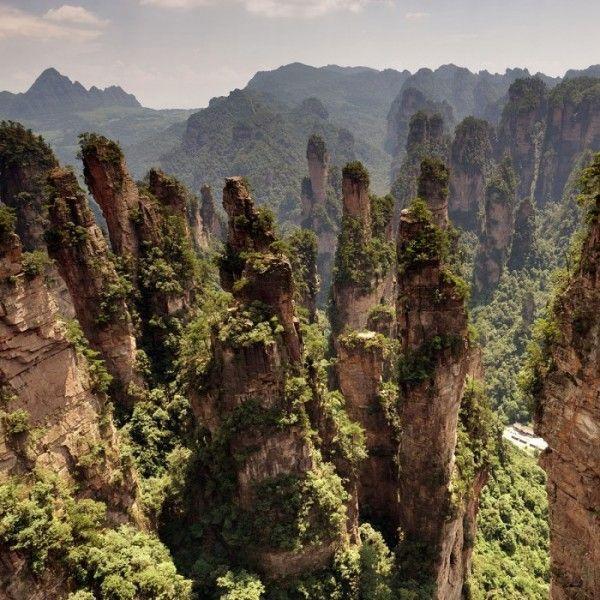 Zhangjiajie, China. Paisajes más impresionantes del planeta