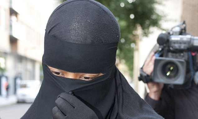 Muslim woman will be allowed to stand trial in full-face veil - but mu