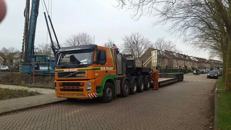 Volvo FH. speciaaltransport. Zw.trantsport. .