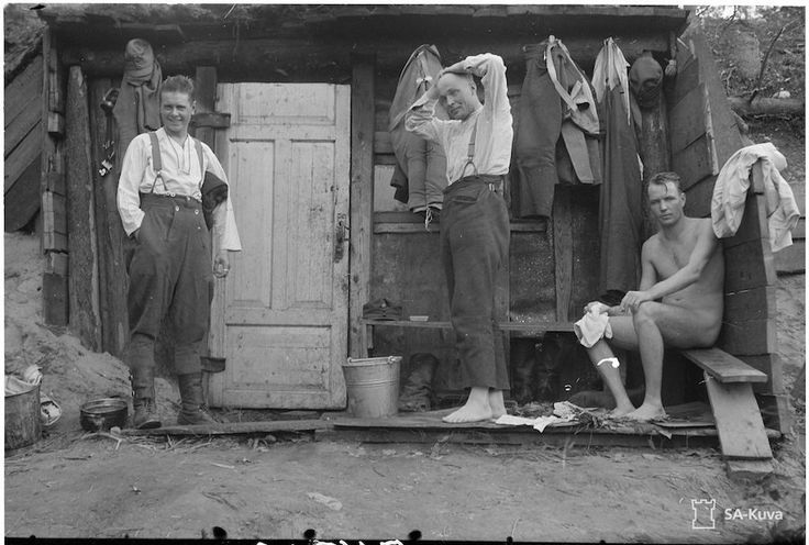 How Finland's incredible WWII soldiers built war zone saunas