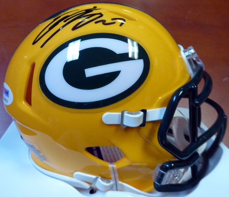 Eddie Lacy Autographed Green Bay Packers Speed Mini Helmet PSA/DNA