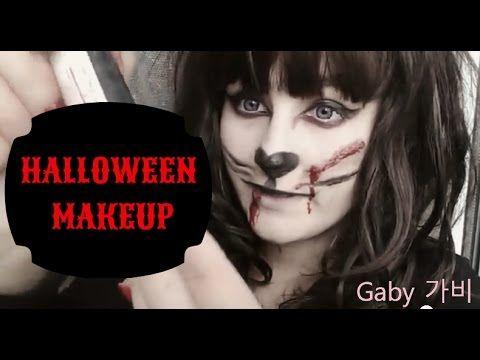 Halloween makeup (2015) - Crazy cat #cute #kawaii #halloween #makeup #halloweenmakeup #cat