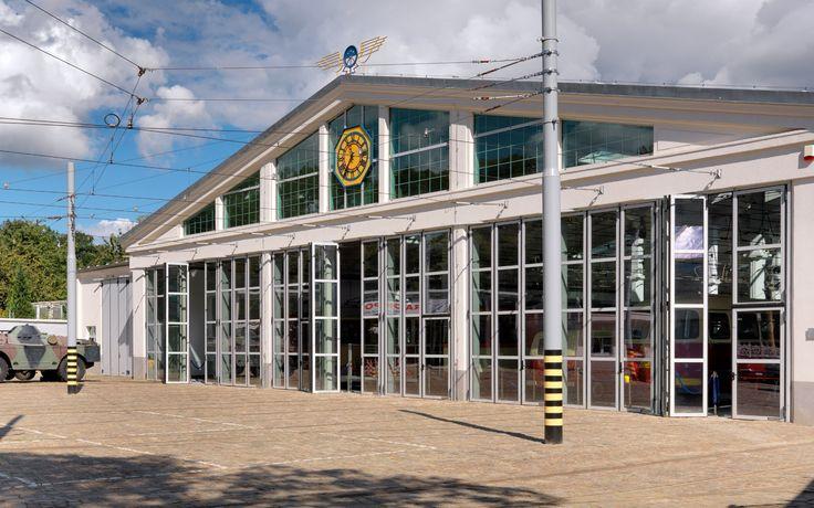 Muzeum Techniki i Komunikacji. Szczecin, Polska. Szkło: SGG COOL-LITE SKN 174 II.#glass #architecture #desing #public_space