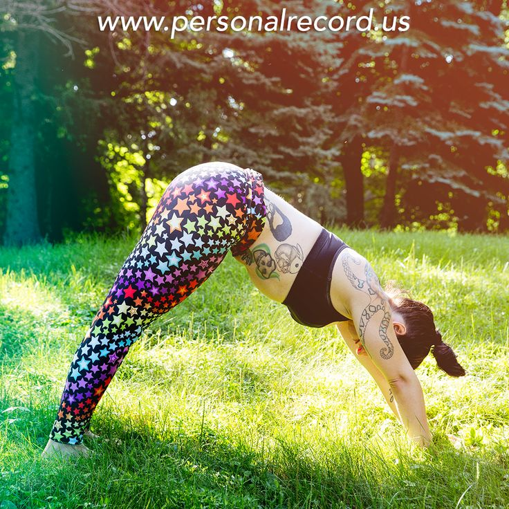 Personal Record, workout leggings for the curvy and plus size ...