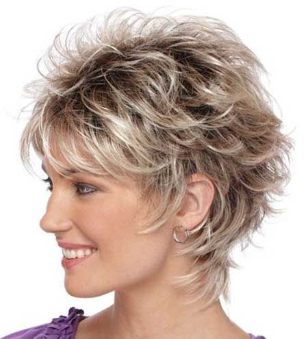 Superb 1000 Ideas About Messy Short Hairstyles On Pinterest Hairstyles Short Hairstyles Gunalazisus