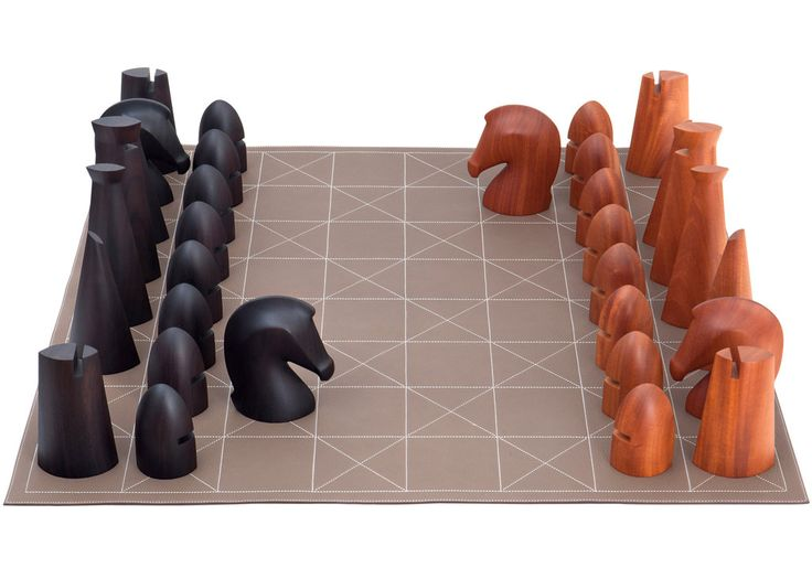 Hermès chess set 18K