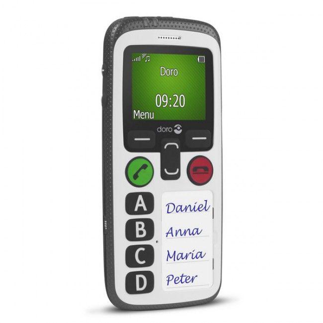 Doro - HandlePlus 334 -Téléphone sénior grosses touches malvoyant coté