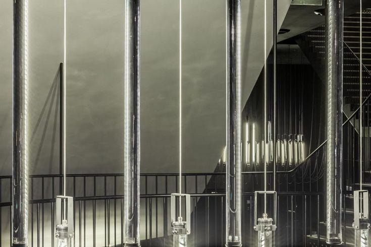 Grand théatre - Albi / mobilier & luminaires -