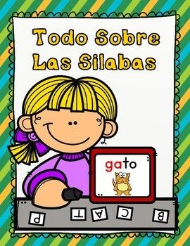 #teachmorespanish SLA Hojas de trabajo para Kindergarten, Todo Sobre Las Silabas tiene 31 paginas de actividades para las silabas iniciales, silabas mediales, silabas finales. This is a great End of year packet to make sure that your kiddos have mastered the Spanish Initial, Medial, and Final Syllables.