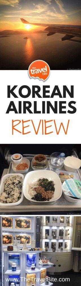 Korean Airlines Review ~ http://thetravelbite.com