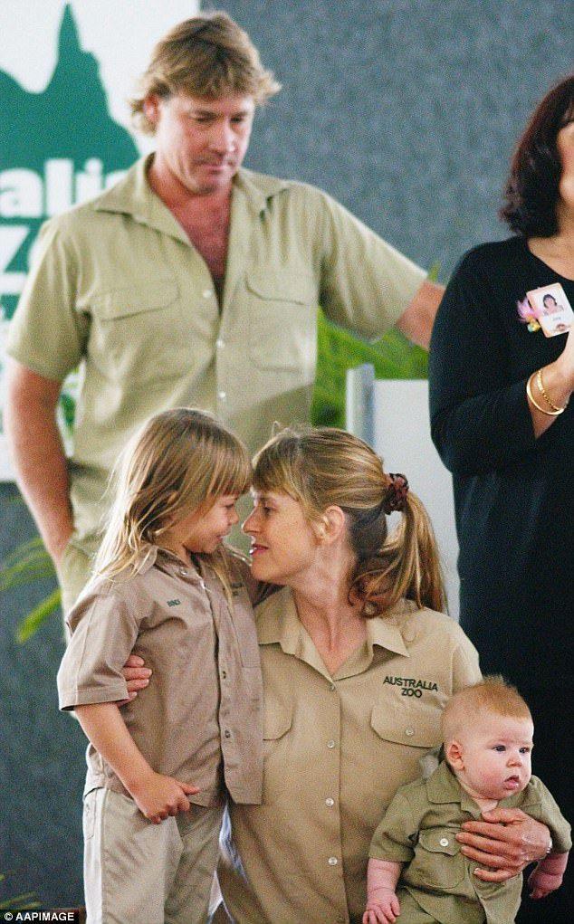 Terri Irwin shares emotional tribute to Steve Irwin #dailymail