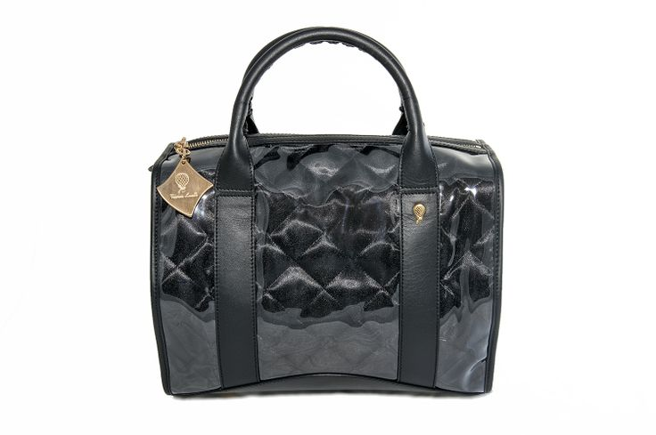 Crystal Bag - All Black www.federicalunello.com #federicalunello #bags #accessories #handamade #madeinitaly