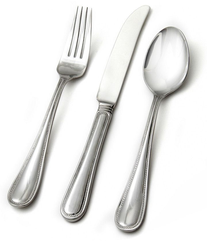 Hampton Forge Oakland 18/0 Stainless Steel 20Pc Flatware Set
