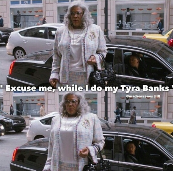 Tyra Banks Jussie Meme: 263 Best Images About Madea / Tyler Perry On Pinterest