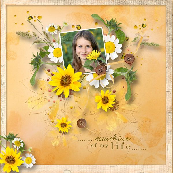 """""""Sunny Day"""" by MiSi Scrap, RAK for a friend JD Photography, http://www.digiscrapbooking.ch/shop/index.php?main_page=product_info&cPath=22_225&products_id=20227"""