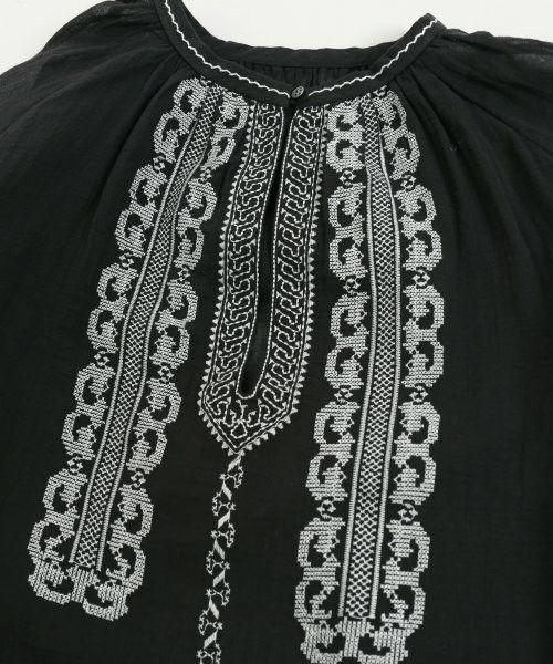SLOBE IENA(スローブイエナ)の「《予約》クロスステッチ刺繍ブラウス◆(シャツ/ブラウス)」|詳細画像