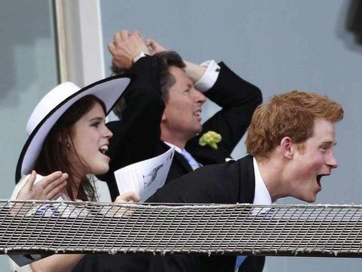 princess Prince eugenie harry
