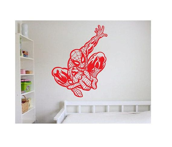Spiderman completo corpo Sticker adesivi murali Decal---Vendicatori super eroe batman comics ragno uomo bambini grande camera da letto grande divertimento ragazzo o ragazza