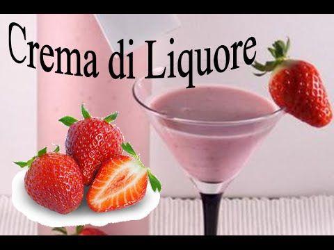 Crema di Liquore alla Fragola Fatta in Casa Artigianale Video ricetta facile e veloce - https://www.youtube.com/watch?v=1kVK3bdd90s