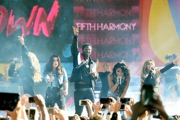 Fifth Harmony & Gucci Mane Perform Down On Jimmy Fallon