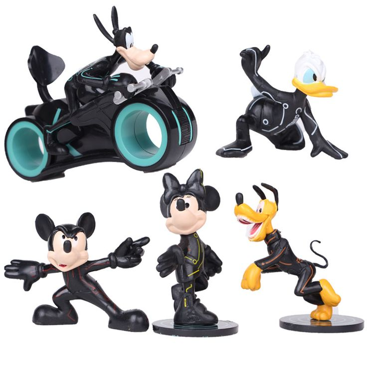 ==> [Free Shipping] Buy Best Disney 5pcsLot Mickey Dog Action Figure Model Kids Toys Online with LOWEST Price | 32772910252