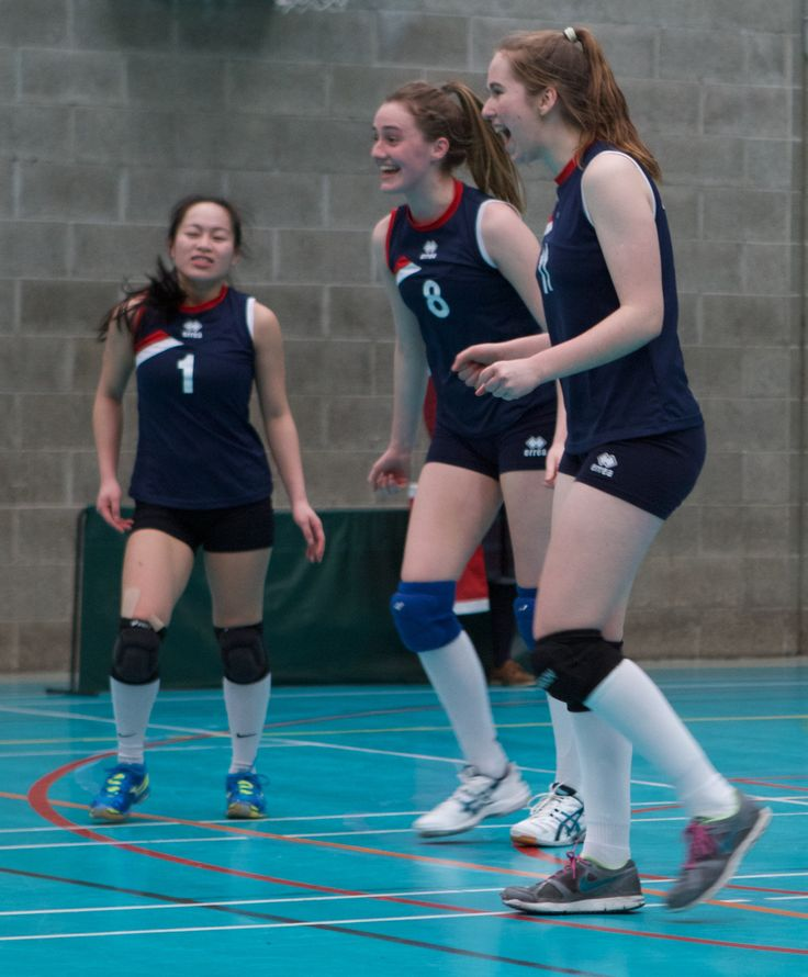 https://flic.kr/s/aHskpXRv1N | Schools Volleyball Finals '15 | From the A final - St Mary's Naas, who  won a fifth title, beating Holy Family Newbridge.