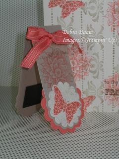 Two Tags Die Magnetic Bookmark Card