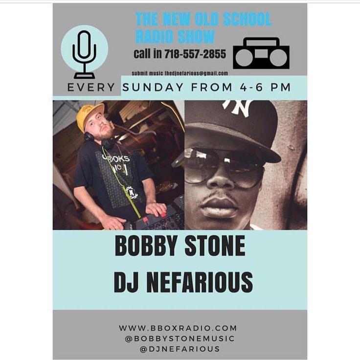 Tune in Today on BBox Radio Eddie Jones aka Bobby Stone with DJ Nefarious! #TNOS #TheNewOldSchool #teamtnos #ivit @bobbystonemusic @djnefarious Every Sunday 4-6 #bboxradio #radio #radio-personalities #radiopersonality #entrepreneur #entertainment #official #brooklyn #actor #singer #bobbystone #teamtnos #indieartist #dj