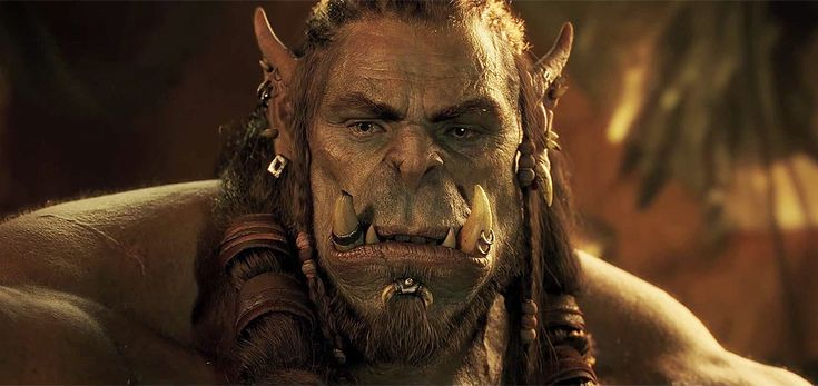 It's orcs vs. humans in the first Warcraft movie trailer, based on the popular fantasy adventure video game series.