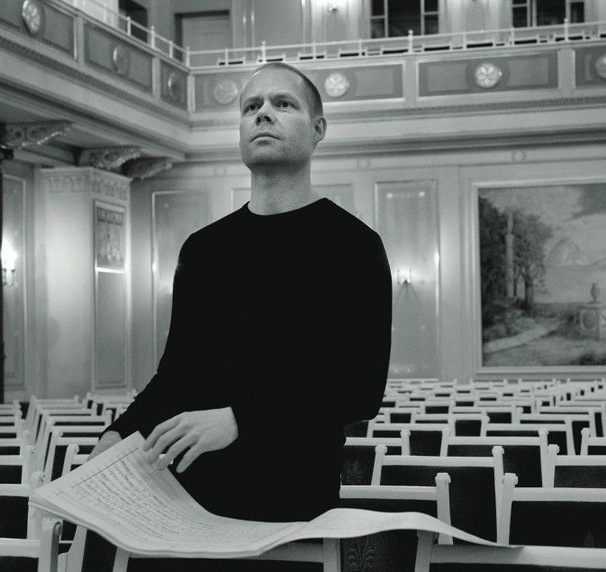 Max Richter composed the moving music