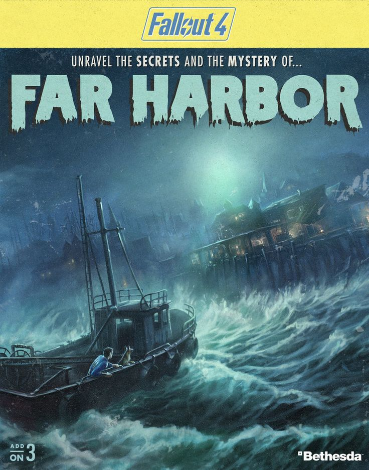 Fallout 4 - Far Harbor DLC by PlanK-69