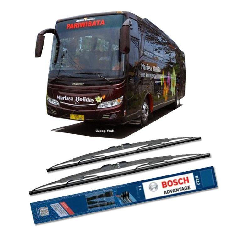 """Bosch Sepasang Wiper Kaca Mobil Bus/Bis Tipe Skyliner Advantage 28"""" & 28"""" - 2 Buah/Set  Umur Pakai & Daya Tahan Lebih Lama Penyapuan kaca yang senyap Performa Sapuan Optimal Instalasi Mudah & Cepat Original Produk Bosch  http://klikonderdil.com/with-frame/1194-bosch-sepasang-wiper-kaca-mobil-mobil-busbis-tipe-skyliner-advantage-28-28-2-buahset.html  #bosch #wiper #jualwiper #bisskyliner"""