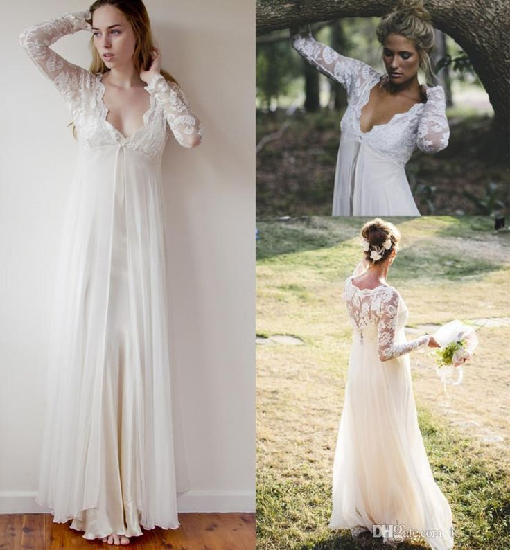 Simple Lace Wedding Dress Cheap Informal Bride Dress Half: Wholesale 2014 Wedding Dresses
