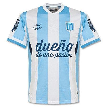 Camiseta del Racing Club 2014-2015 Local