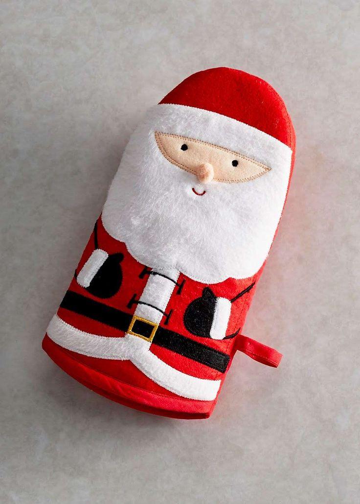 Christmas Oven Glove (27cm x 14cm) View 1