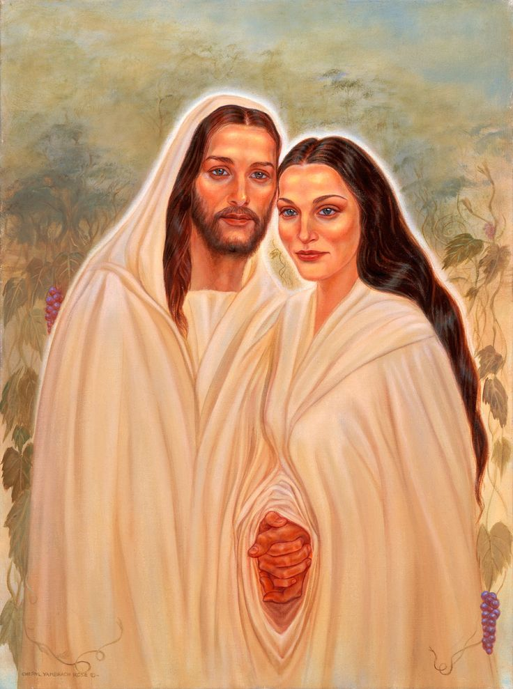 Jesus and Mary Magdalene:The sacread marriage