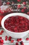 Homemade Cranberry Sauce Recipe - Raining Hot Coupons