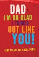 Fathers Day Cards - Local Pubs | Father's Day | BC1491