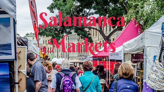 The Salamanca Markets are a well-known destination for both tourists and locals, held on Saturdays.