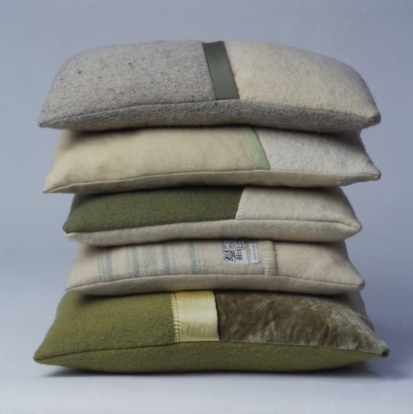recycled British blankets from £40. Lovely with ticking?