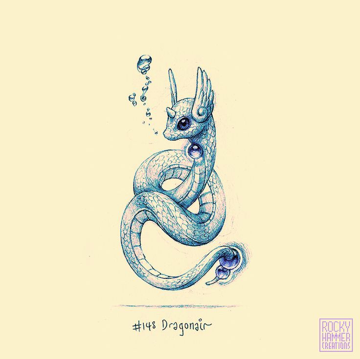 It's Dragonair! Going to try and upload consistently again.