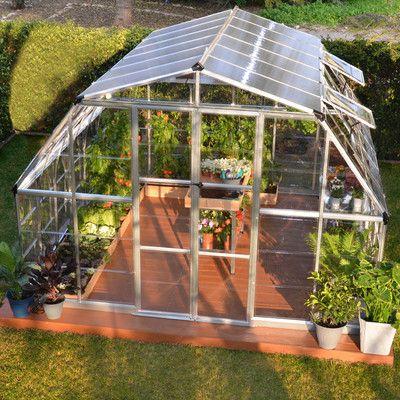 Palram Americana 12 Ft. W x 12 Ft. D D Polycarbonate Greenhouse & Reviews   Wayfair