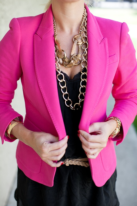 17 Best images about bright pink jacket on Pinterest | Blazers ...