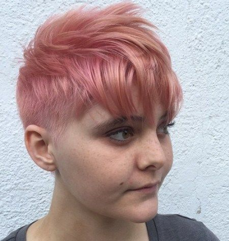 Forward Styled Pixie Cut
