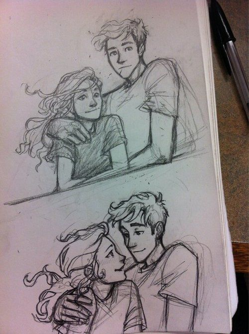 character sketch of percy jackson Percy jackson character sketches i don't know whose who but the girls are pretty.