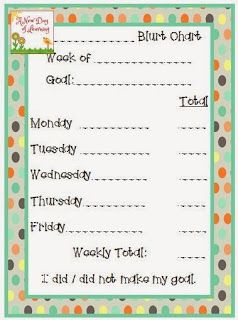 Students won't stop blurting out and disrupting class? Try this Blurt Chart.