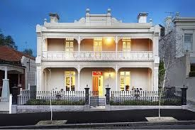 Late Victorian Style House, 99 Hotham Street, East Melbourne, VIC, Australia.