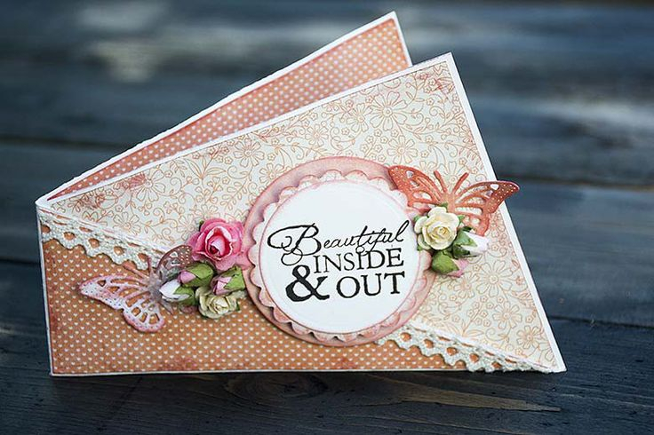 Twisted card with tutorial by Helens Color Life
