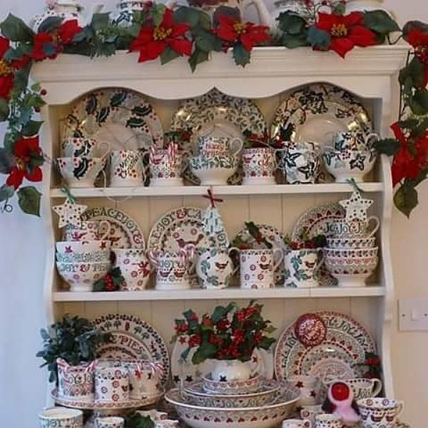 Christmas Dresser at Emma Bridgewater