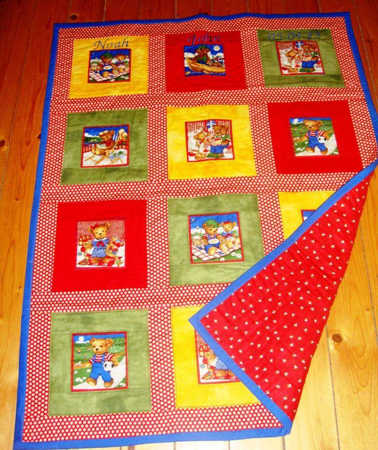 Noah's cot quilt